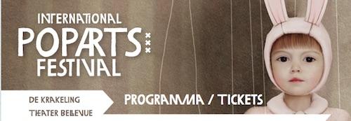 Poparts Festival, gebouwd in WordPress